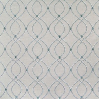 B6550 Mallard Fabric: D70, ROBIN'S EGG MEDALLION, LIGHT BLUE MEDALLION EMBROIDERY, MEDALLION AND DOT EMBROIDERY, LATTICE EMBROIDERY