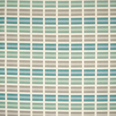 B6591 Teal Fabric: D71, BLUE GEOMETRIC PRINT, TEAL GEOMETRIC PRINT, TEAL RECTANGULAR PRINT, COTTON PRINT