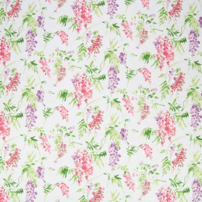 B6600 Spring Rain Fabric: D71, PURPLE FLORAL PRINT, VIOLET FLORAL PRINT, LIGHT PURPLE FLORAL PRINT, COTTON FLORAL PRINT