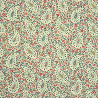 B6650 Bayberry Fabric: D72, LARGE SCALE FLORAL PRINT, LARGE SCALE PAISLEY PRINT, COTTON PRINT