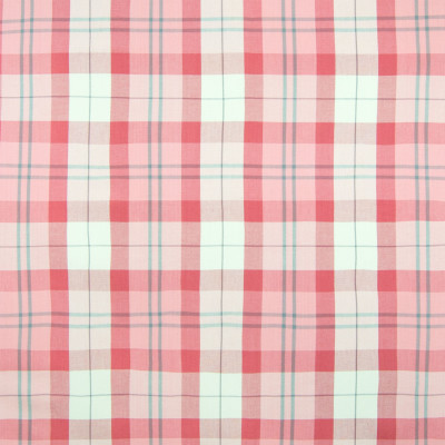 B6673 Pink Fabric: D73, PINK PLAID, PINK CHECK, WOVEN PLAID, BLUSH COLORED PLAID, PINK WOVEN PLAID, PINK WOVEN CHECK, COTTON PLAID, PINK COTTON PLAID, PINK COTTON CHECK