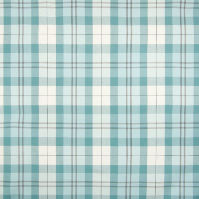 B6694 Mist Fabric: D73, BLUE PLAID, TWILL PLAID, SPA BLUE WOVEN PLAID, SPA WOVEN PLAID, SPA CHECK, WOVEN CHECK
