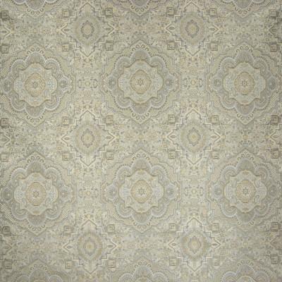 B6703 Vintage Fabric: D73, LARGE SCALE MEDALLION, LARGE SCALE GEOMETRIC, CARPET MEDALLION, CARPET PATTERN, VINTAGE MEDALLION, METALLIC MEDALLION, ASIAN MEDALLION