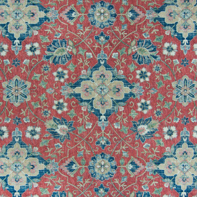 B6819 Vintage Red Fabric: E35, D86, D82, SOUTHWEST PRINT, LINEN PRINT, RED FLORAL PRINT, DISTRESSED PRINT, CARPET PRINT