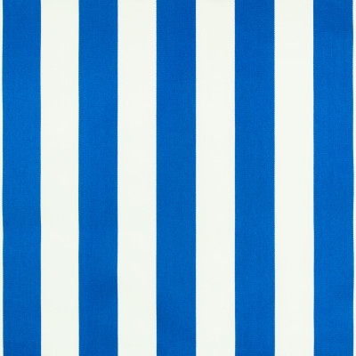 B6871 Cabana Blue Fabric: D79, OUTDOOR, CABANA STRIPE, POLO STRIPE, OUTDOOR STRIPE, LARGE SCALE STRIPE, THICK STRIPE,WOVEN