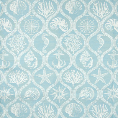 B6874 Aquamarine Fabric: D79, OUTDOOR, OUTDOOR OGEE, OUTDOOR CORAL, OUTDOOR NOVELTY, NAUTICAL, NAUTICAL NOVELTY