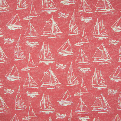 B6888 Candy Fabric: D79, OUTDOOR, SAILBOAT, NOVELTY BOATS, LANDSCAPE, OUTDOOR SEASCAPE, MARITIME, BOAT, SAILING