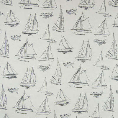 B6903 Khaki Fabric: D79, OUTDOOR, SAILBOAT, NOVELTY BOATS, LANDSCAPE, OUTDOOR SEASCAPE, MARITIME, BOAT, SAILING