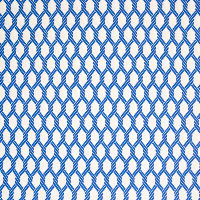 B6932 Ocean Fabric: D80, OUTDOOR, LATTICE, NAUTICAL ROPE, LATTICE PRINT, OUTDOOR PRINT, NAUTICAL PRINT, GEOMETRIC PRINT