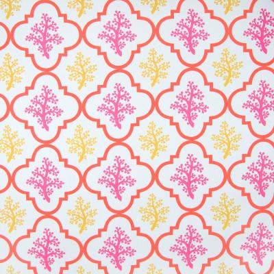 B6956 Primrose Fabric: D80, OUTDOOR, OUTDOOR PRINT, OUTDOOR GEOMETRIC, OUTDOOR BEACH PRINT, TROPICAL PRINT, YELLOW AND ORANGE
