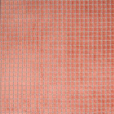 B7030 Penny Fabric: D82, CUT VELVET, GEOMETRIC VELVET, SQUARE VELVET, BLUSH, PINK, ROSE QUARTZ,WOVEN