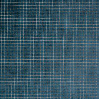 B7105 Persian Fabric: D83, CUT VELVET, SQUARE VELVET, GEOMETRIC VELVET, SOLID BLUE VELVET, INDIGO VELVET, BLUE VELVET,WOVEN