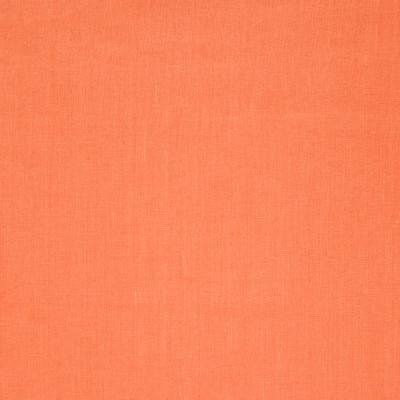 B7280 Nectar Fabric: D88, ORANGE LINEN, WOVEN LINEN, MANDARIN ORANGE, SOLID LINEN 100% LINEN