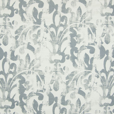 B7340 Smoke Fabric: D90, LARGE SCALE SCROLL, LARGE SCALE PATTERN, LARGE SCALE JACQUARD, VINTAGE SCROLL, VINTAGE PATTERN