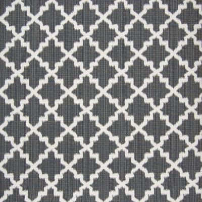 B7350 Charcoal Fabric: E31, D90, CHAIR SCALE DIAMOND, CHAIR SCALE LATTICE, CHAIR SCALE GEOMETRIC, LATTICE, CHARCOAL, SLATE, WOVEN