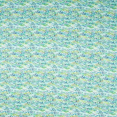 B7377 Caribe Fabric: E38, D91, POLKA DOT PRINT, DOT PRINT, TEAL PRINT, MULTICOLORED PRINT, COTTON PRINT