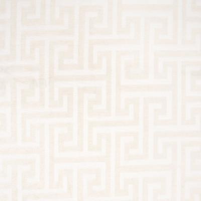 B7420 Cream Fabric: E61, D93, WOVEN GEOMETRIC, GREEK KEY, TONE ON TONE GEOMETRIC, CHAIR SCALE GEOMETRIC, MEDIUM SCALE GEOMETRIC