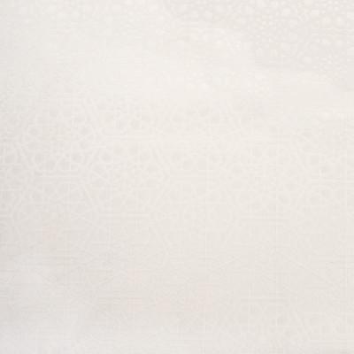 B7423 Snow Fabric: D93, MATALESSE, MATALESSES, GEOMETRIC MATELASSES, IVORY MATELASSES, WHITE MATELASSES