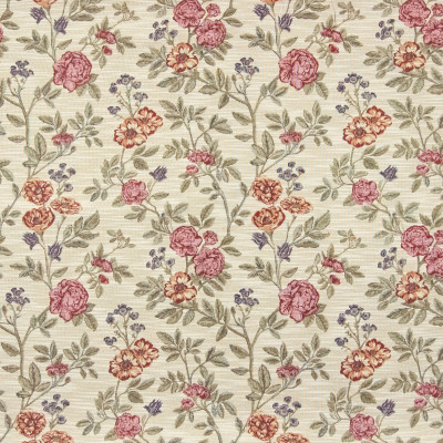 B7450 Cream Fabric: D93, FLORAL TAPESTRY, ROSE TAPESTRY, BLUSH TAPESTRY FLORAL, FLOWERS