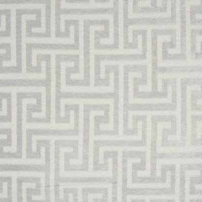 B7468 Dove Fabric: D93, CHAIR SCALE GEOMETRIC, GREEK KEY, WOVEN GEOMETRIC, WOVEN GEOMETRIC, CHENILLE, MEDIUM SCALE GEOMETRIC