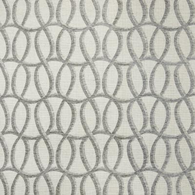 B7485 Graphite Fabric: D93, MEDIUM SCALE GEOMETRIC, MEDIUM SCALE CIRCLES, LOOPS, WAVY CIRCLES, WOVEN GEOMETRIC