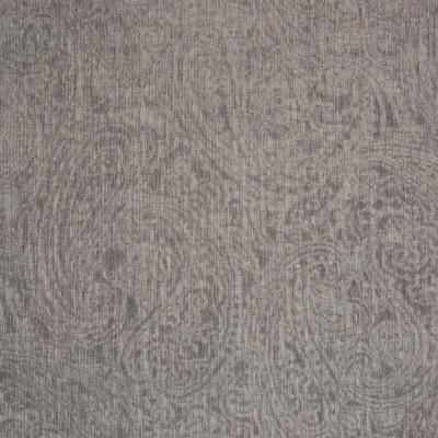 B7487 Granite Fabric: D93, SOLID JACQUARD CHENILLE, GRAY JACQUARD CHENILLE, PAISLEY CHENILLE, SCROLL CHENILLE, WARM GRAY CHENILLE, WARM GREY CHENILLE, GREY JACQUARD CHENILLE
