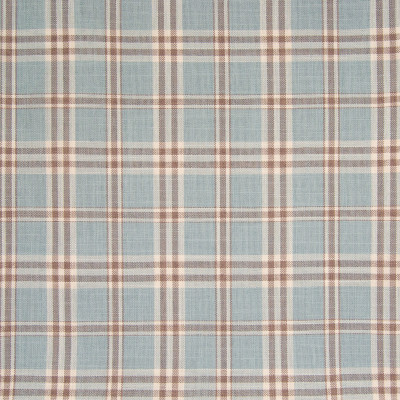 B7586 Sky Fabric: D95, WOVEN PLAID, BLUE PLAID, BLUE WOVEN PLAID, SKY BLUE WOVEN PLAID, WOVEN CHECK