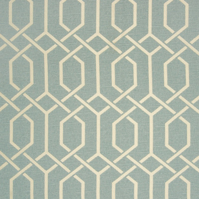 B7589 Rain Fabric: D95, LIGHT BLUE GEOMETRIC, CHAIR CHAIR GEOMETRIC, CHAIR SCALE LATTICE, LIGHT BLUE LATTICE