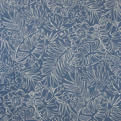 B7619 Reef Fabric: D95, PALM LEAF, BANANA LEAF, LARGE SCALE FLORAL, LARGE SCALE PALM