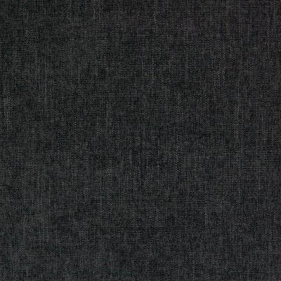 B7709 Onyx Fabric: D97, ONYX, BLACK CHENILLE, SOLID BLACK, JET BLACK CHENILLE, DARK, MIDNIGHT CHENILLE,WOVEN
