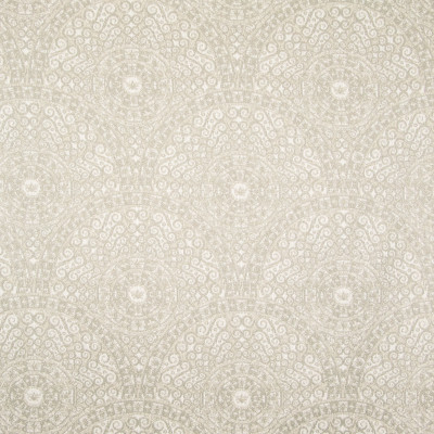 B7804 Bisque Fabric: E01, GEOMETRIC, MEDALLION, NEUTRAL, GEOMETRIC MEDALLION, PERFORMANCE FABRICS, REVOLUTION PERFORMANCE FABRICS, REVOLUTION FABRICS, BLEACH CLEANABLE, STAIN RESISTANT