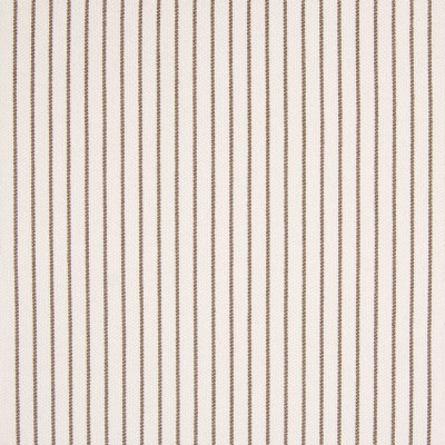 B7822 Toast Fabric: E01, BROWN STRIPE, PINSTRIPE, TICKING STRIPE, BROWN TICKING, PERFORMANCE FABRICS, REVOLUTION PERFORMANCE FABRICS, REVOLUTION FABRICS, BLEACH CLEANABLE, STAIN RESISTANT,WOVEN