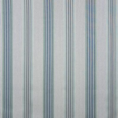 B7868 Powder Fabric: E02, BLUE STRIPE, MULTI STRIPE, STRIPE, PERFORMANCE FABRICS, REVOLUTION PERFORMANCE FABRICS, REVOLUTION FABRICS, BLEACH CLEANABLE, STAIN RESISTANT
