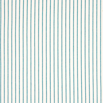 B7872 Peacock Fabric: E02, STRIPE, TEAL, TEAL STRIPE, PINSTRIPE, TURQUOISE, PERFORMANCE FABRICS, REVOLUTION PERFORMANCE FABRICS, REVOLUTION FABRICS, BLEACH CLEANABLE, STAIN RESISTANT