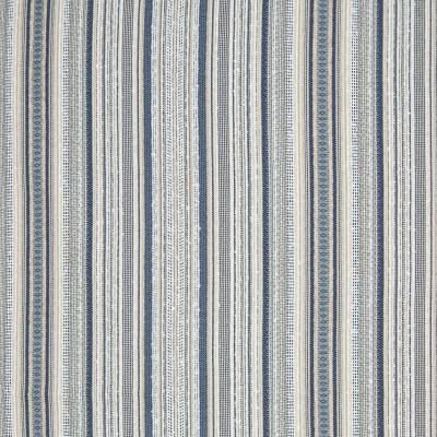 B7892 Lapis Fabric: E02, STRIPE, TEXTURE, TEXTURED STRIPE, BLUE, PERFORMANCE FABRICS, REVOLUTION PERFORMANCE FABRICS, REVOLUTION FABRICS, BLEACH CLEANABLE, STAIN RESISTANT