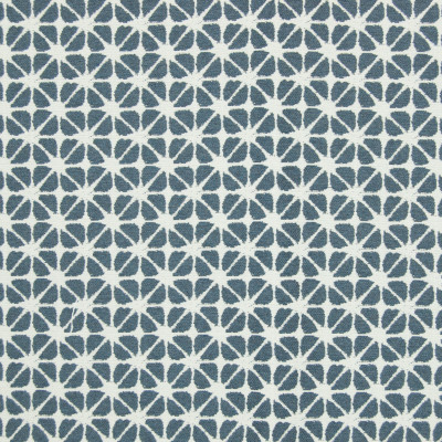 B7894 Marine Fabric: E02, SHIBORI, ABSTRACT, CONTEMPORARY, GEOMETRIC, BLUE, PERFORMANCE FABRICS, REVOLUTION PERFORMANCE FABRICS, REVOLUTION FABRICS, BLEACH CLEANABLE, STAIN RESISTANT,WOVEN