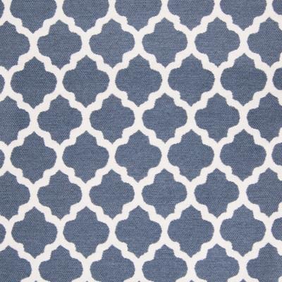 B7897 Denim Fabric: E02, OGEE, LATTICE, GEOMETRIC, MEDALLION, BLUE, DENIM, PERFORMANCE FABRICS, REVOLUTION PERFORMANCE FABRICS, REVOLUTION FABRICS, BLEACH CLEANABLE, STAIN RESISTANT,WOVEN