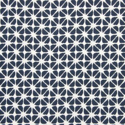 B7918 Indigo Fabric: E02, SHIBORI, GEOMETRIC, ABSTRACT, CONTEMPORARY, INDIGO, PERFORMANCE FABRICS, REVOLUTION PERFORMANCE FABRICS, REVOLUTION FABRICS, BLEACH CLEANABLE, STAIN RESISTANT,WOVEN