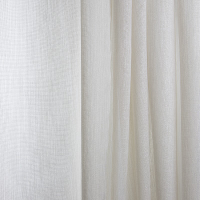 B7959 Milky Fabric: E03, INHERENTLY FIRE RETARDANT, IFR, FIRE RESISTANT, CHAMPAGNE, METALLIC, SOLID, SHEER, WINDOW