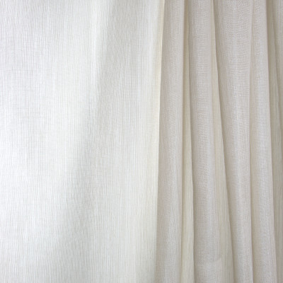 B7960 Hemp Fabric: E03, INHERENTLY FIRE RETARDANT, IFR, FIRE RESISTANT, HEMP, METALLIC, BEIGE, SHEER, WINDOW, SOLID