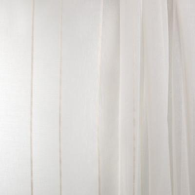 B7962 Ivory Fabric: E03, INHERENTLY FIRE RETARDANT, IFR, FIRE RESISTANT, CHAMPAGNE STRIPE, LINEN STRIPE SHEER, OFF WHITE SHEER, STRIPE