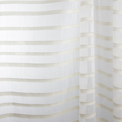 B7971 Champagne Fabric: E03, INHERENTLY FIRE RETARDANT, FIRE RESISTANT, IFR, STRIPED SHEER, GOLD STRIPE SHEER, METALLIC GOLD SHEER, WOVEN STRIPED SHEER