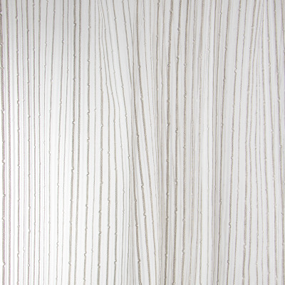 B7976 Mineral Fabric: E03, INHERENTLY FIRE RETARDANT, FIRE RESISTANT, IFR, STRIPE, TEXTURE, BROWN, SHEER, WINDOW