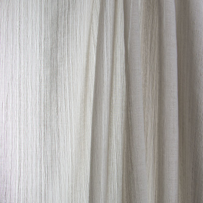 B7978 Gray Fabric: E03, INHERENTLY FIRE RETARDANT, FIRE RESISTANT, IFR, TEXTURE, SOLID, WOVEN, FAUX LINEN, GRAY, SHEER, WINDOW