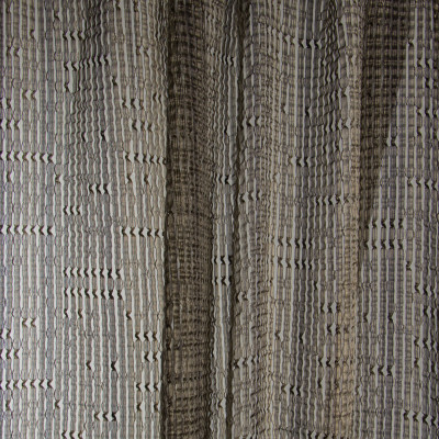 B7979 Bronze Fabric: E03, INHERENTLY FIRE RETARDANT, FIRE RESISTANT, IFR, BRONZE, TEXTURE, STRIPE, WINDOW, WOVEN