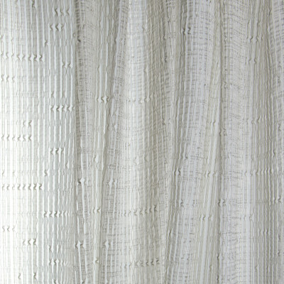 B7980 Platinum Fabric: E03, INHERENTLY FIRE RETARDANT, FIRE RESISTANT, IFR, GRAY, STRIPE, TEXTURE, SHEER, WINDOW