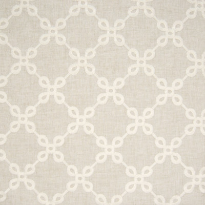 B8024 Sand Fabric: E04, EMBROIDERY, NATURAL, NEUTRAL, DIAMOND, GEOMETRIC, FAUX LINEN, WINDOW, DRAPERY
