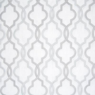 B8037 Platinum Fabric: E04, SILVER LATTICE, LIGHT GRAY LATTICE, LIGHT GREY LATTICE, GEOMETRIC LATTICE