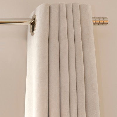 B8050 Imperial Sateen Pale Ivory Fabric: E04, DRAPERY LINING, LINING, SATEEN, COTTON BLEND, IVORY, DRAPERY, WINDOW