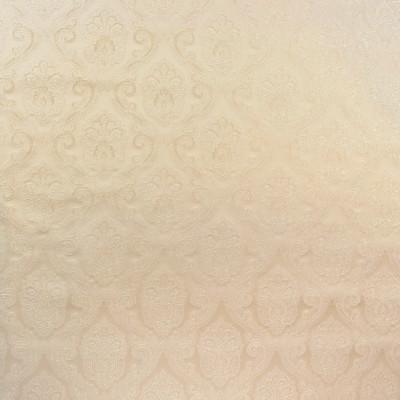 B8139 Beach Fabric: E06, NEUTRAL, DAMASK, JACQUARD, MEDALLION, SCROLL, SATIN, TONE-ON-TONE